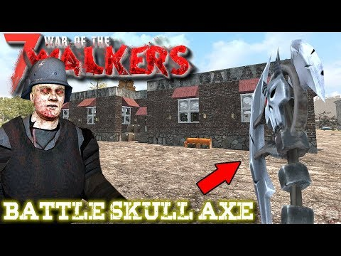 Battle Skull Axe | WOTW MOD | 7 Days To Die Gameplay | S5 EP14