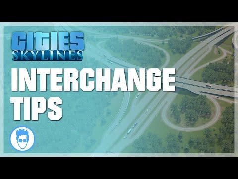 Cities: Skylines - Highway Interchange tips