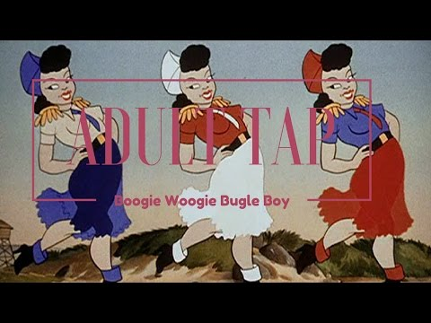 Boogie Woogie Bugle Boy - Adult Tap Dance rocks!