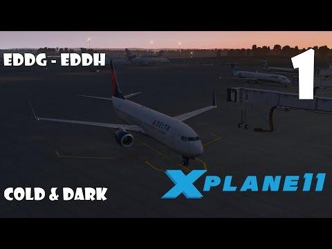 X Plane 11 Erste Schritte # Boeing 737-800 Part 1 (Cold & Dark Start)[German]