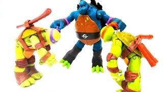 Черепашки #Ниндзя: Лео превратился в Слэша! Бибоп отравил Черепашек Ниндзя! Игры для мальчиков