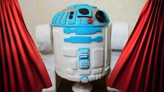 Teil Star Wars Motivtorte R2d2 Kuchen Torte Backen Dekorieren Mit Fondant