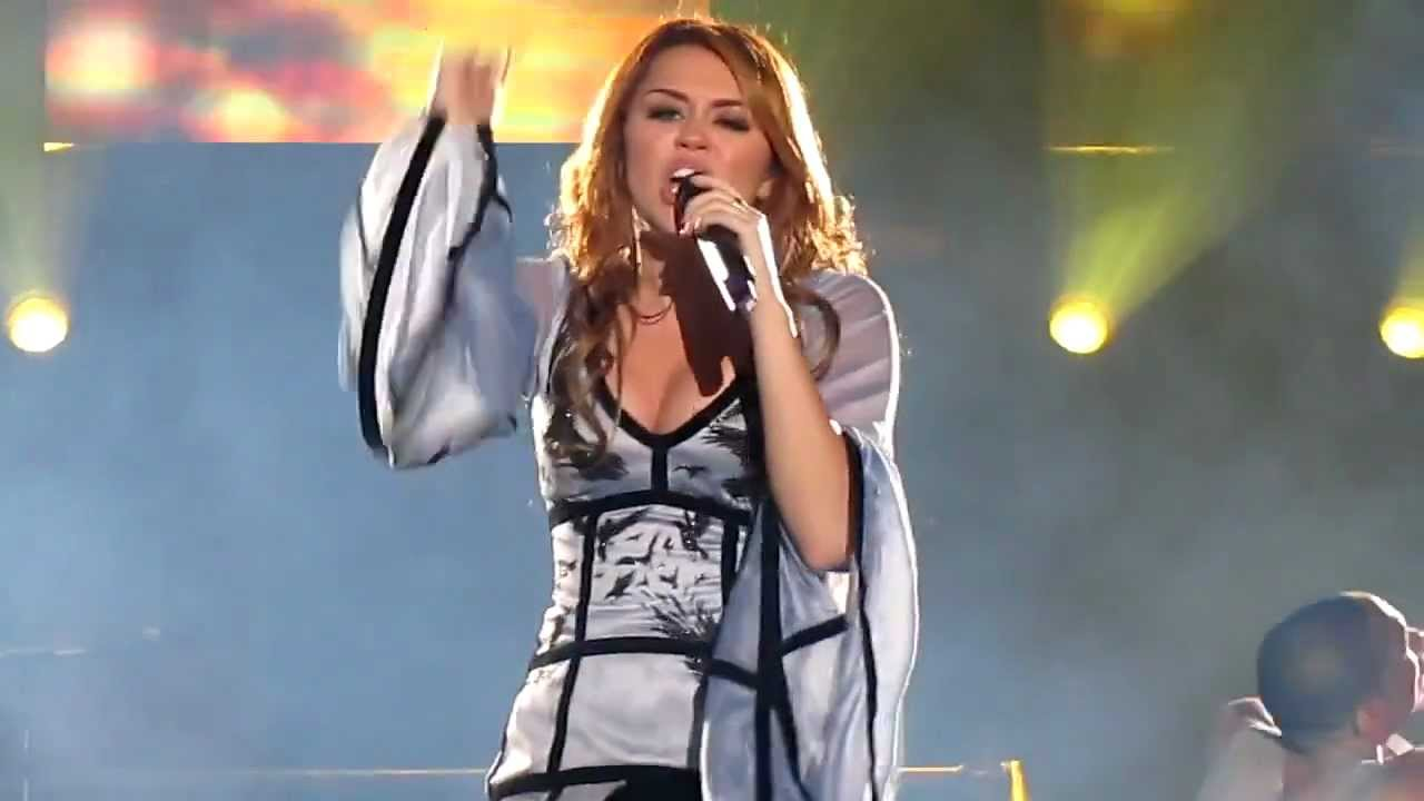 miley cyrus - take me along  gypsy heart tour  live in chile 2011  hd