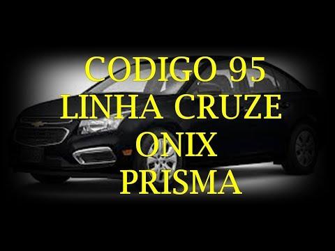 CARLOS - CRUZE APARECE  CODIGO 95 NO PAINEL