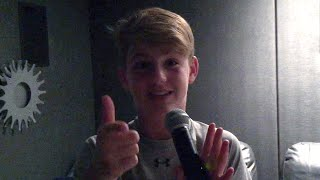 Rare Mattyb Rehearsal Footage (new Kids)