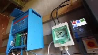 baterie litowe  pojemności 10kWh w układzie zwiększonej konsumpcji własnej, Victron multiplus 5kW