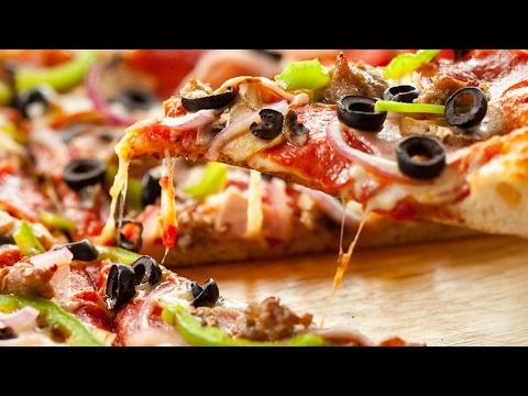 صورة  طريقة عمل البيتزا طريقة عمل البيتزا  في المنزل الايطالية مع الصوص البارد - Pizza Hut طريقة عمل البيتزا من يوتيوب