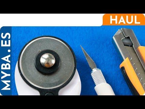 Cúters o cutters: Comparativa. Tipos, usos, test de corte de materiales.