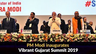 PM Modi inaugurates Vibrant Gujarat Summit -2019