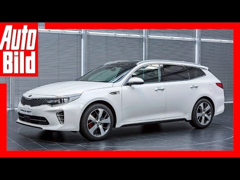 Kia Optima Kombi Review/ Probefahrt/ Test/ Details