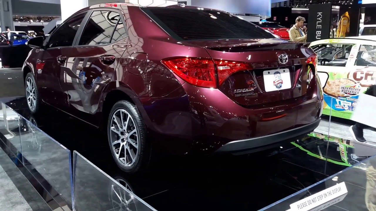2017 toyota corolla 50th anniversary special edition exterior walkaround 2016 new york auto show. Black Bedroom Furniture Sets. Home Design Ideas
