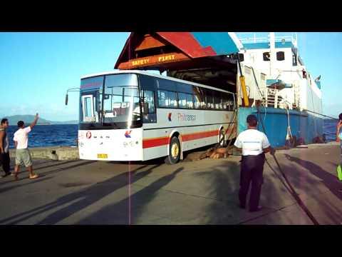 Philtranco 746 Boarding Maharlika Ferry 6