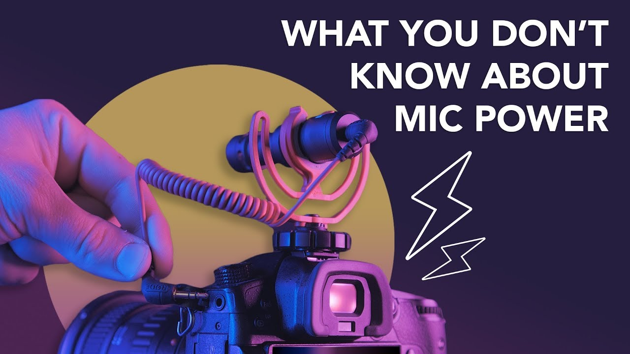 Audio For Film 101: A Guide to Powering Your Video Mic
