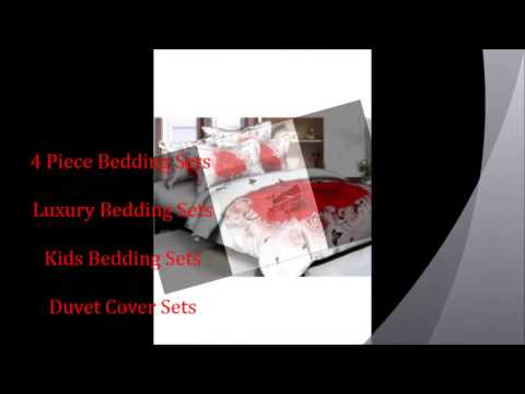 4 Piece Bedding Sets - YouTube