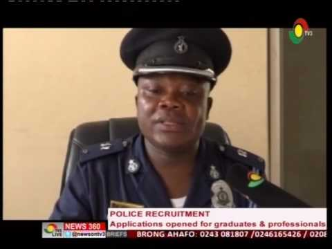 Police service to have a new recruitment for graduates and professionals - 2/9/2016