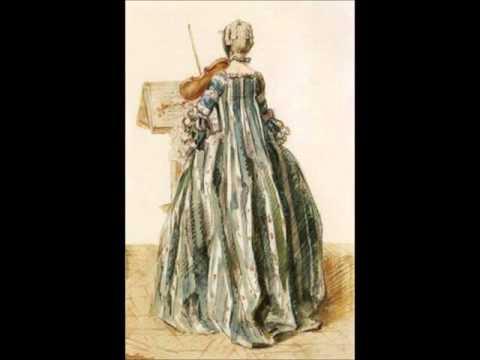 Francois Francoeur . Sonata for Violin and basso continuo N 6 g-moll