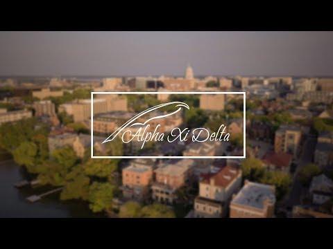 Alpha Xi Delta University of Wisconsin - Madison Bid Day 2017