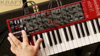 Kraft Music - Nord Lead A1 Virtual Analog Synth Demo with Chris Martirano