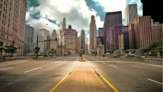 CITY STREETS GREEN SCREEN free stock footage
