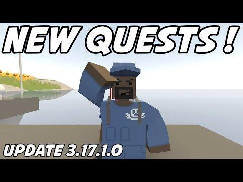 UNTURNED - New Quests! Quadbarrel! Bayonet! (Update 3.17.1.0)