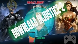 Download Injustice 2 Latest Android Full Game Apk+Data+Mod [Plus Awesome Gameplay]