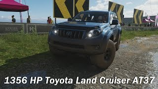 Extreme Offroad Silly Builds - 2016 Toyota Land Cruiser Arctic Trucks AT37 (Forza Horizon 4)