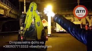 27.02.2017 КИЕВ ШУЛЯВСКИЙ МОСТ ЧП ОБРУШЕНИЕ ГСЧС 2