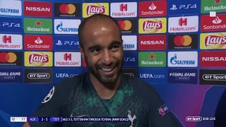 """""""The best moment of my life!"""" Lucas Moura hat-trick sends Spurs to Champions League final"""