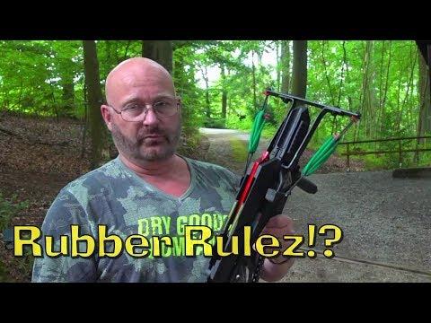 Rubber vs. Fiber glass: The Shootout!