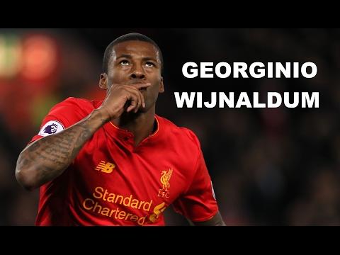 Georginio Wijnaldum ►Skills & Goals ● 16/17  ● Liverpool ᴴᴰ