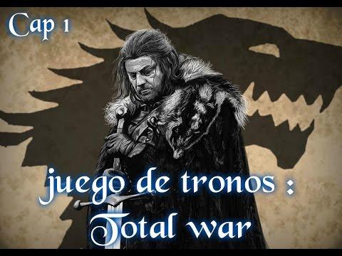 Medieval 2 total war : mod juego de tronos | CAP 1 | EL REY DEL NORTE | STARK | gameplay español