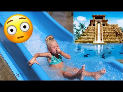 SURPRISING OUR 4 YEAR OLD WITH TRIP TO THE WORLDS BIGGEST WATERPARK!!!