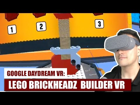 Building a Lego E-Guitar in VR ? Hell yeah! With Lego BrickHeadz Builder VR on Daydream VR