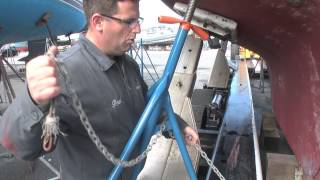 Brownell Boat Stands Demonstration