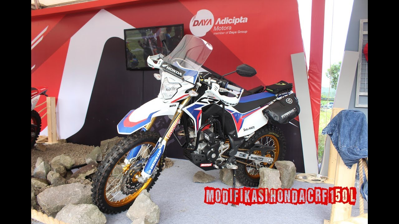 Modifikasi Motor Honda CRF 150 L Versi Modif Motorcross Adventure
