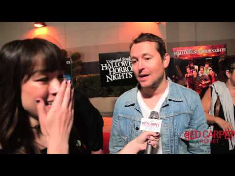 Leigh Whannell at the Premiere of Halloween Horror Nights at Universal Studios UniversalHHN