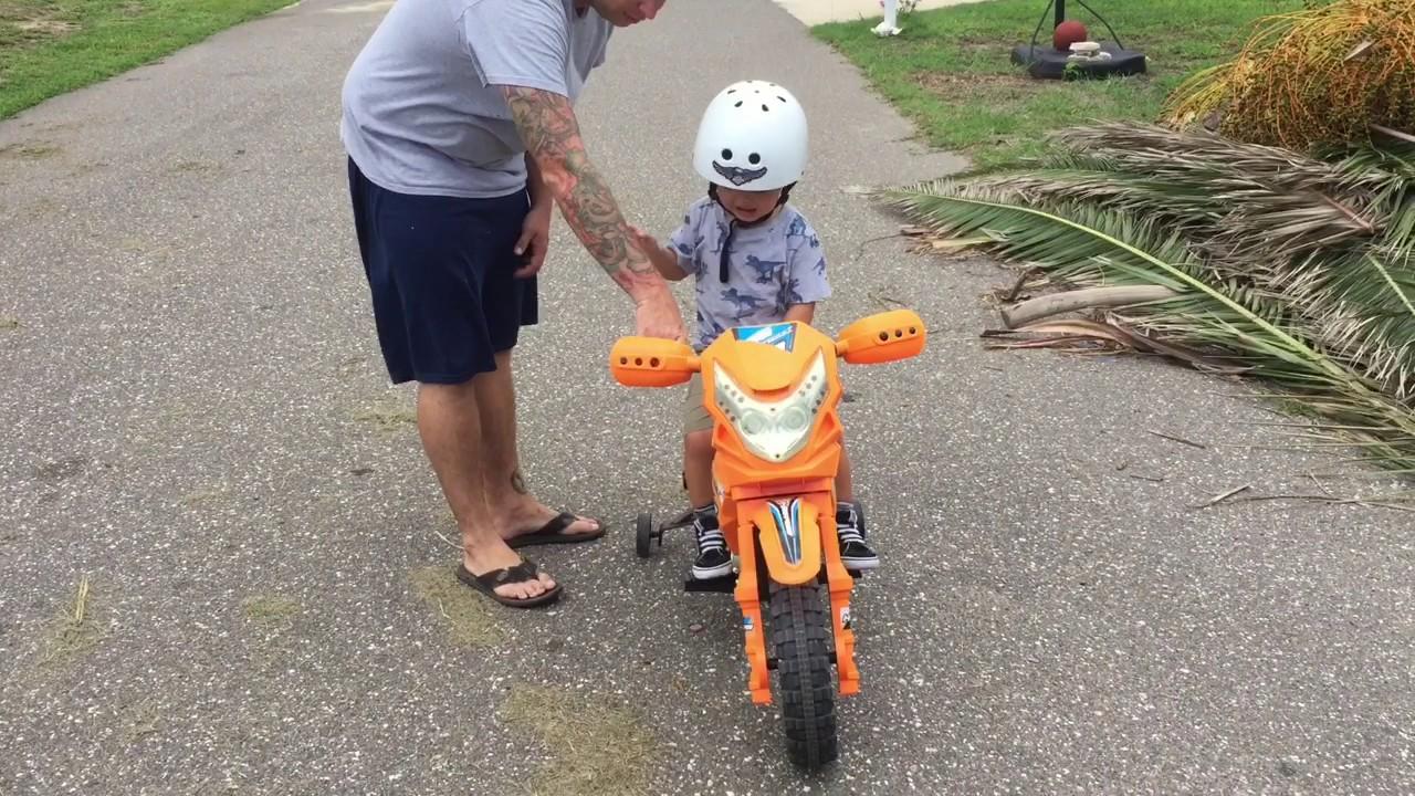 vroom rider vr093 battery operated 6v kids dirt bike - youtube