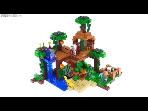 Lego Minecraft 21134 The Waterfall Base Sd Build
