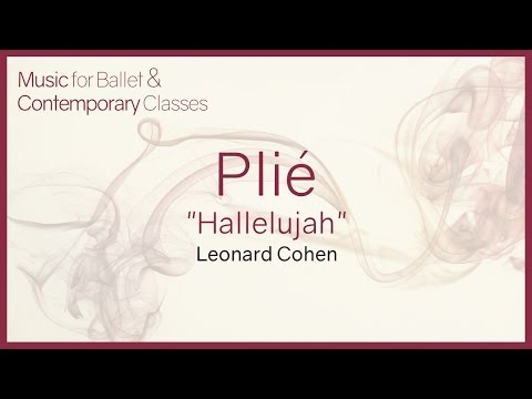 Plié (Hallelujah - Leonard Cohen - Shrek) Piano Covers for Ballet Class.