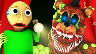 Балди Vs 5 Ночей у Фредди Ночь 1 Five Nights At Freddy S Baldi FNAF ФНАФ Хоррор 3D Анимация