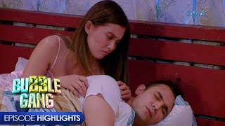 Bubble Gang: Couple's party in bed