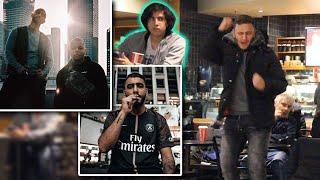 Rappen in der Öffentlichkeit (peinlich) mit Samra, Luciano, Eno und Lil Lano 🎶