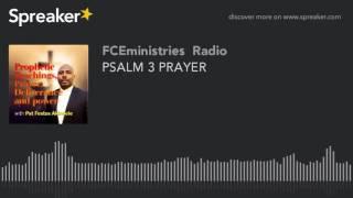 PSALM 3 PRAYER