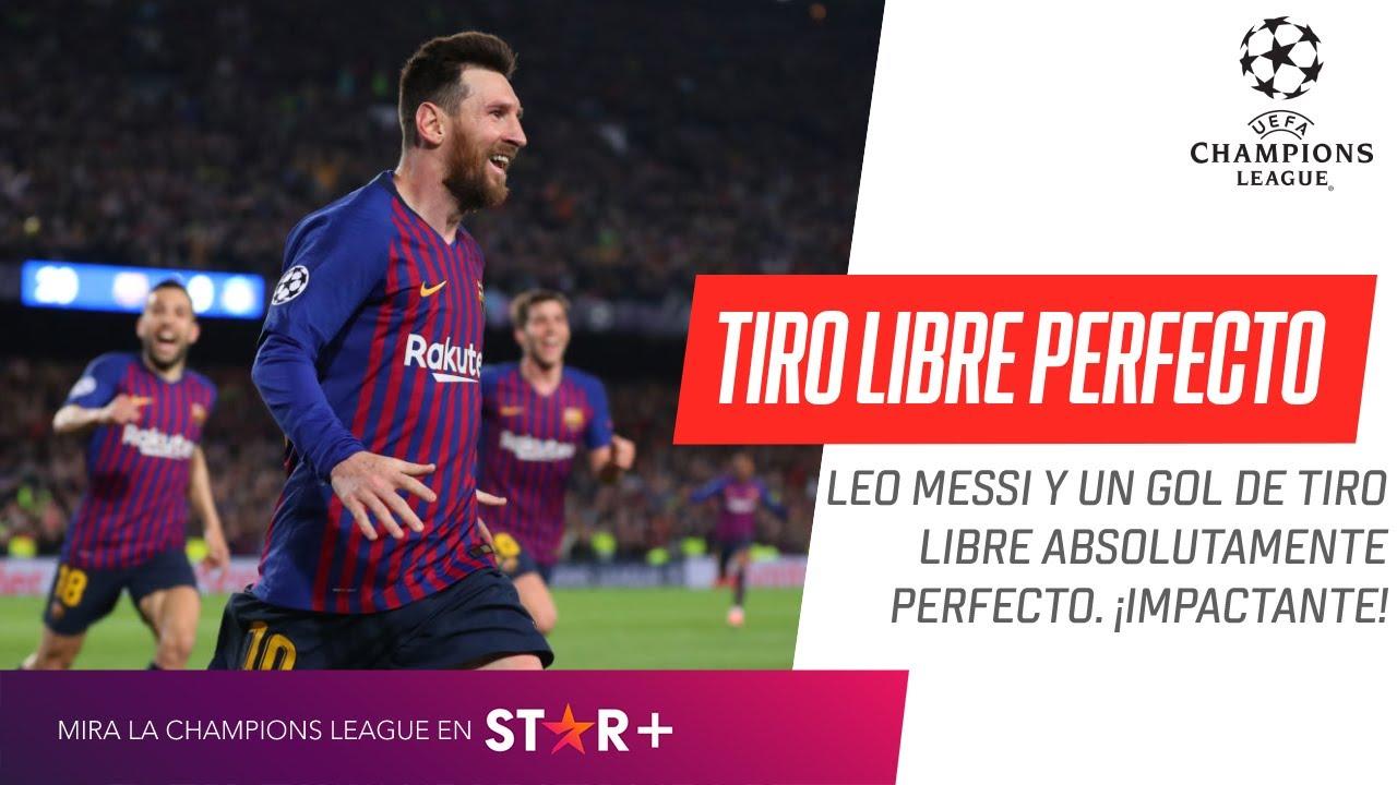 Así fue el GOLAZO de Messi de tiro libre ante el Liverpool | ¡Donde la metió!