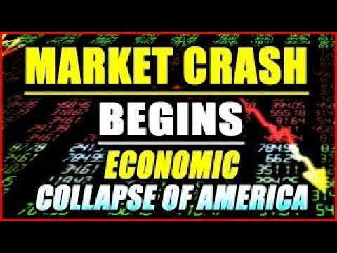 Market Crash Begins Economic Collapse Of AMERICA