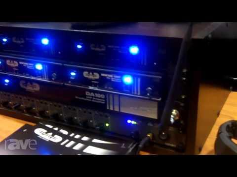 InfoComm 2013: CAD Audio Introduces The WX100 Series