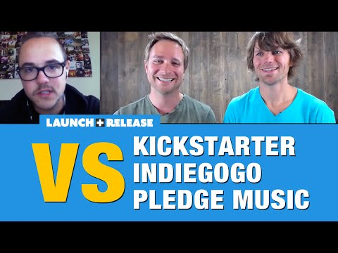 Kickstarter vs Indiegogo vs Pledge Music Mp3