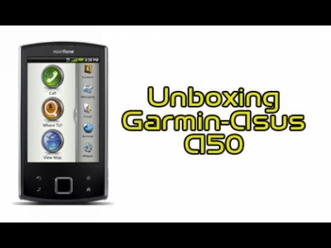 Garmin-Asus nuvifone A50, unboxing in italiano by AndroidWorld.it
