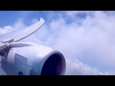 Wing Flex Turbulence Boeing 787-8 Dreamliner