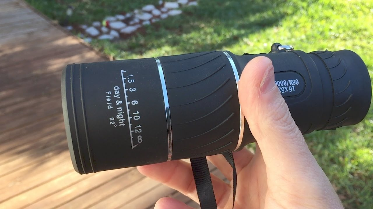 Archeer 16x52 monocular review and unboxing youtube